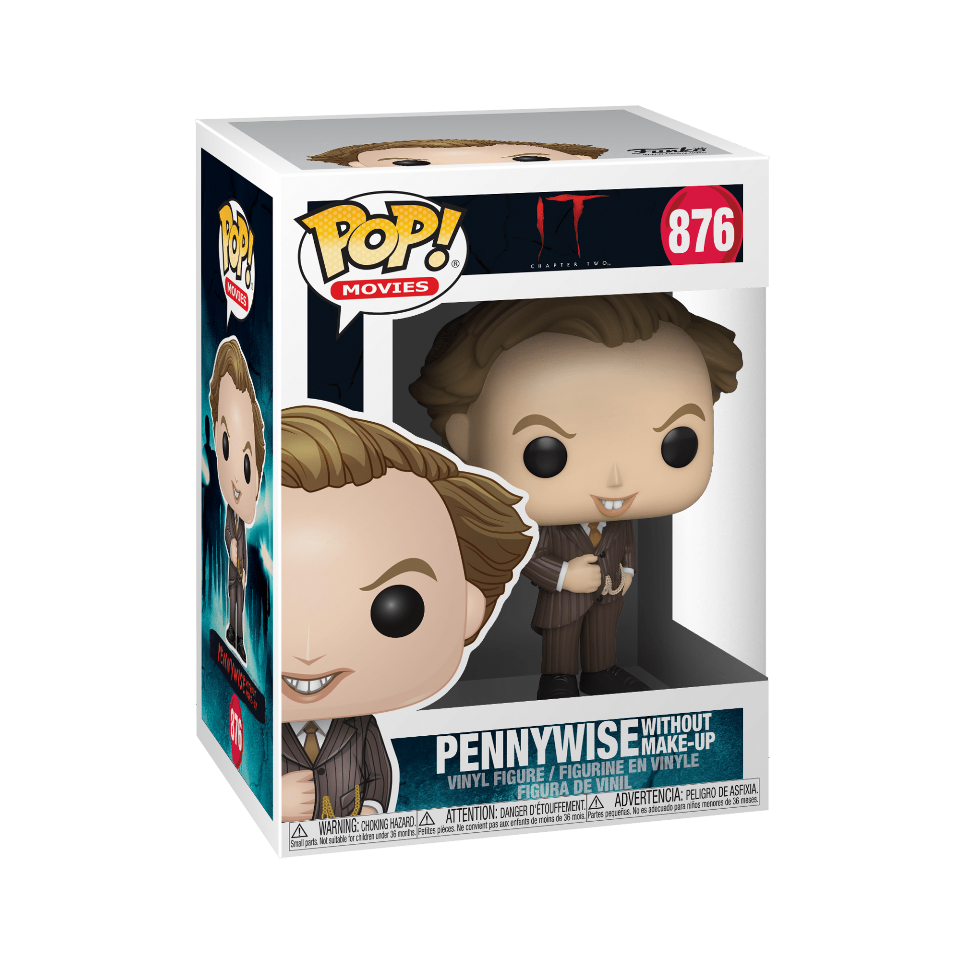 Funko! Pop IT Chapter Two Pennywise Whitout Make-Up #876