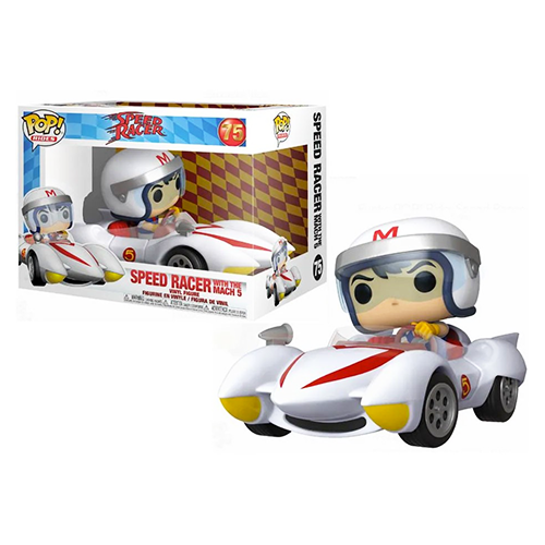 Funko POP! Rides Speed Racer With The Mach 5 #75 (Caixa Danificada)