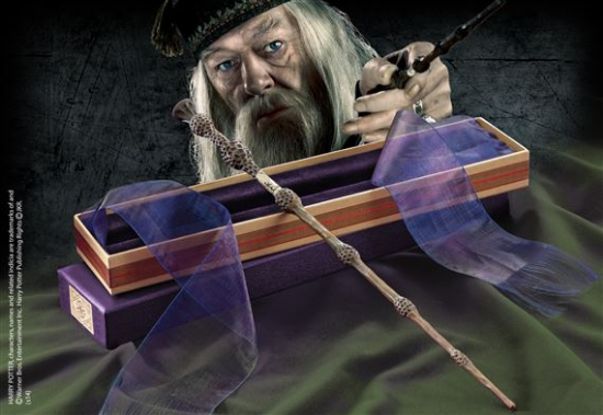 Albus Dumbledore Wand with Ollivanders Wand Box