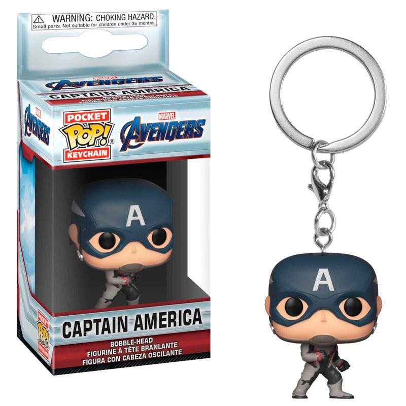 Funko Pocket POP! Keychain Marvel Avengers Endgame Captain America
