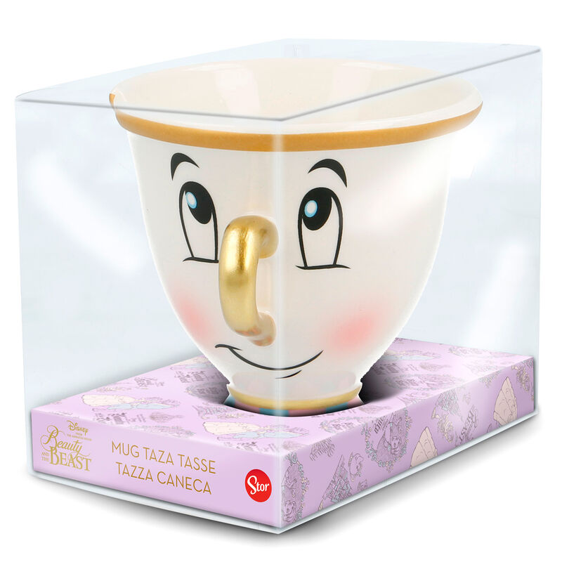 Mug Disney Beauty And The Beast Chip