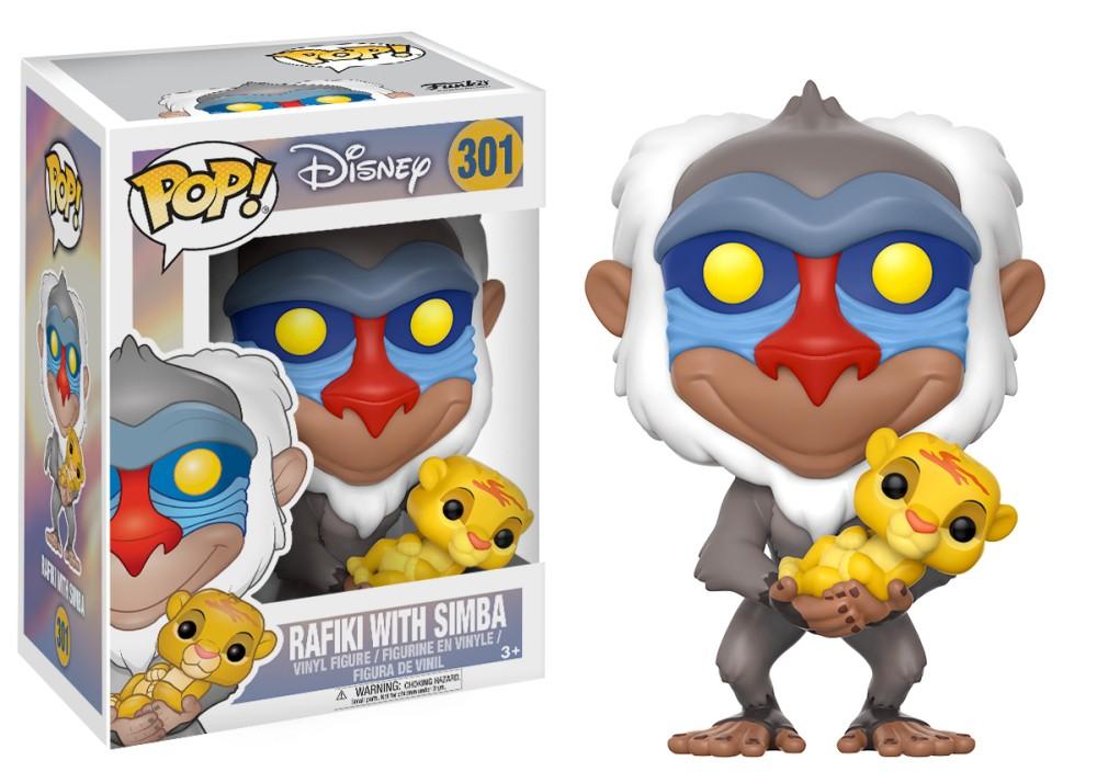 Funko! Pop Disney Rafiki With Simba #301