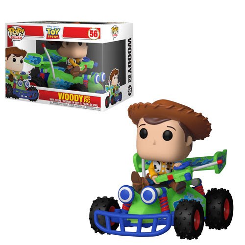 Funko! Pop Ride Toy Story Woody with RC