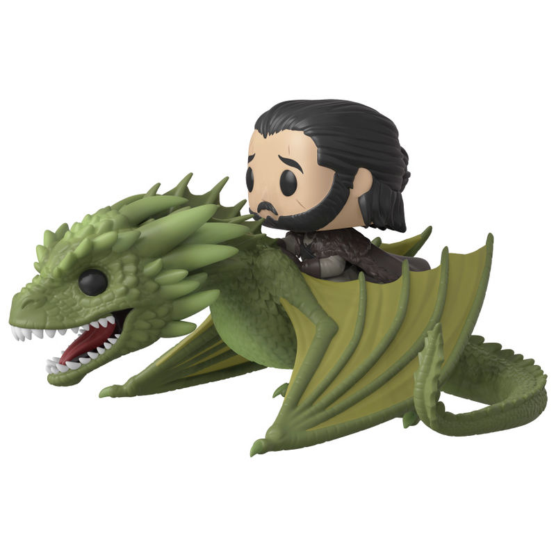 Funko! Pop Game of Thrones Jon Snow & Rhaegal (Caixa Danificada)