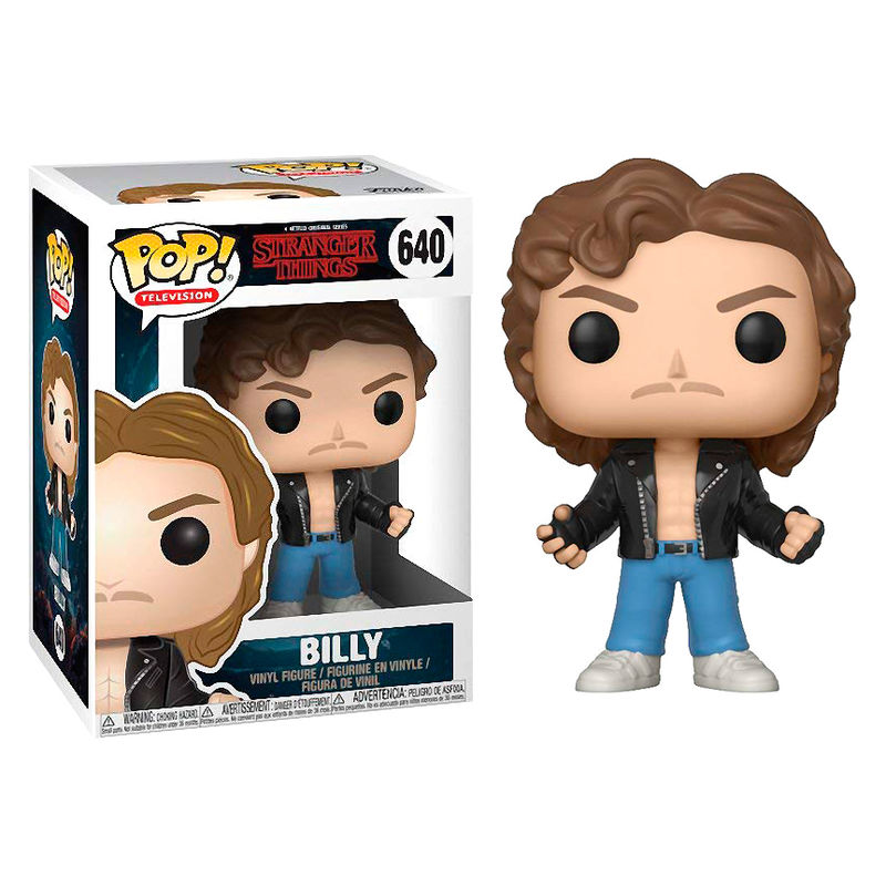 Funko POP! Stranger Things Billy at Halloween #640