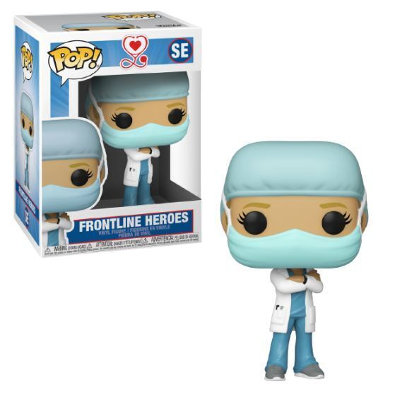 Funko POP! Frontline Heroes Female 1