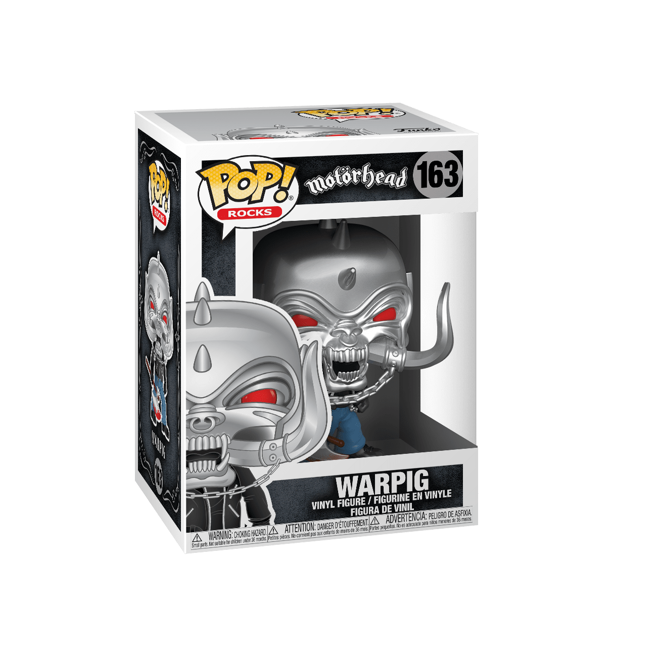 Funko! Pop Rocks Motorhead Warpig #163