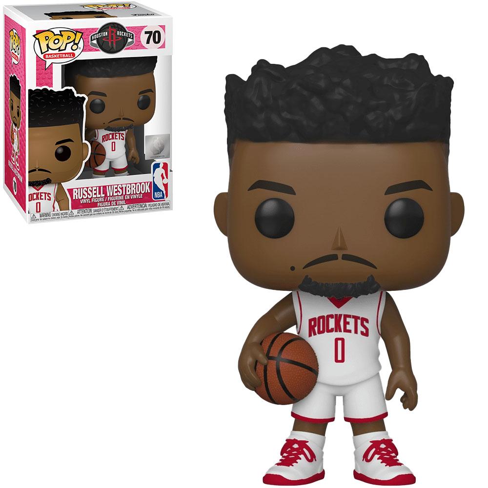 Funko POP! Basketball Houston Rockets Russell Westbrook #70