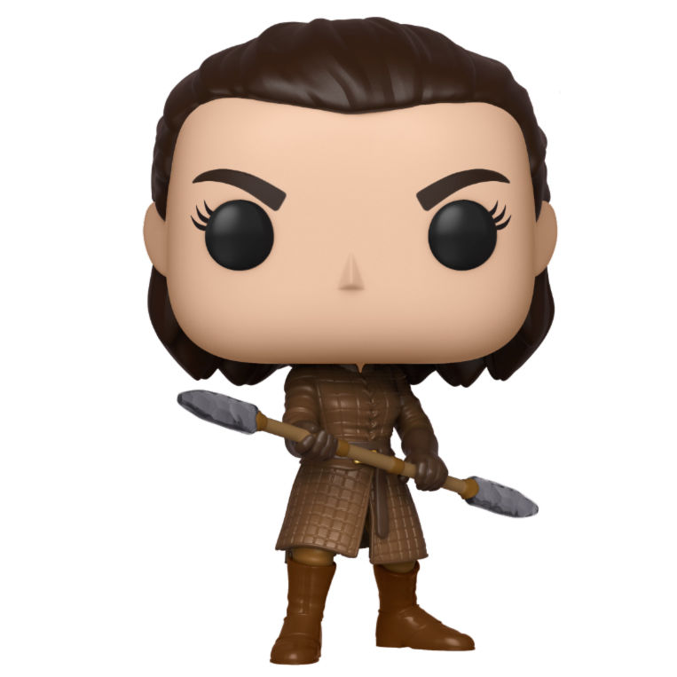 Funko! Pop Game of Thrones Arya with Two Headed Spear