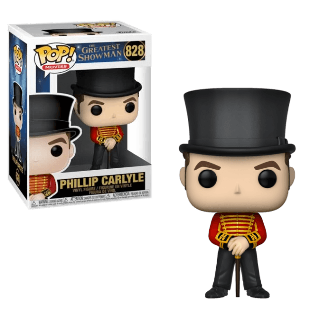 Funko! Pop Movies The Greatest Showman Phillip Carlyle #828