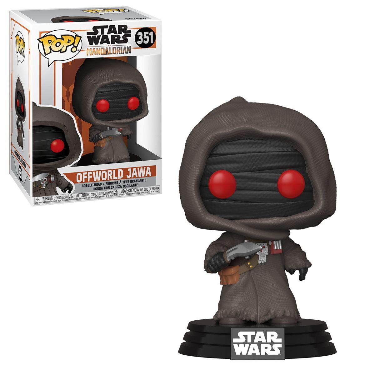 Funko! Pop Star Wars Mandalorian Offworld Jawa #351