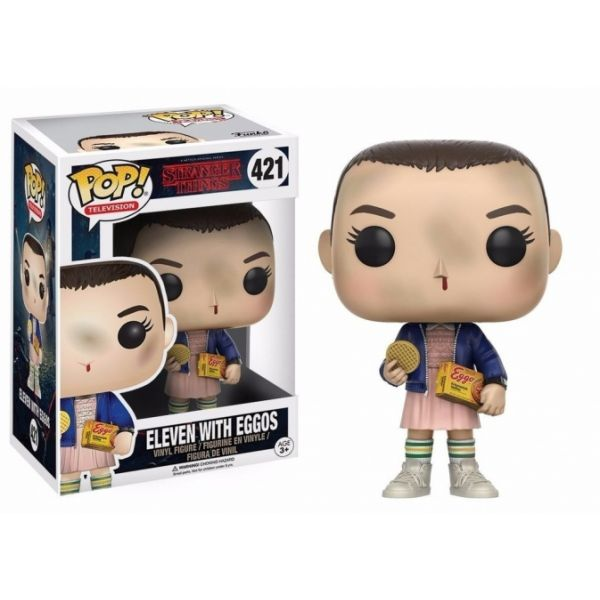 Funko POP! Stranger Things Eleven with Eggos #421