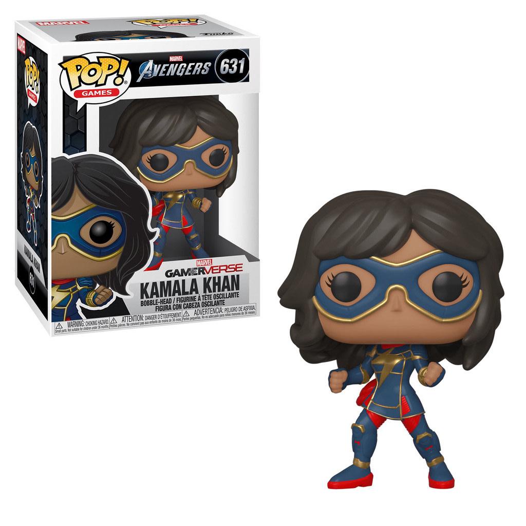 Funko! Pop Games Marvel Avengers GamerVerse Kamala Khan #631