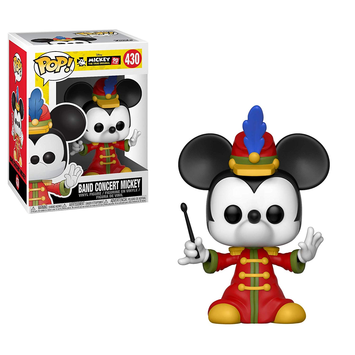 Funko POP! Mickey 90 years Band Concert Mickey #430