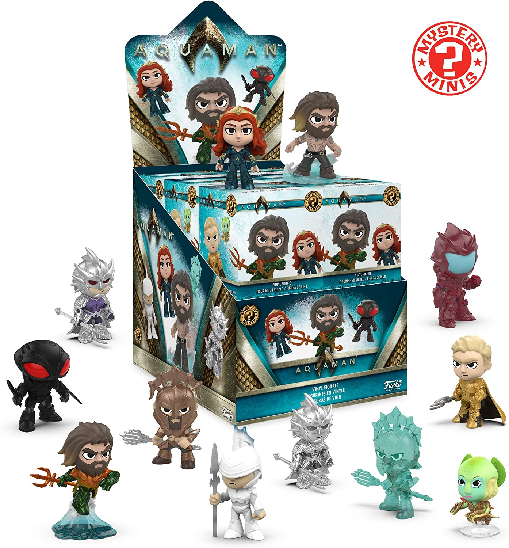 Funko POP! Mystery Mini Figures Blind Box DC Aquaman