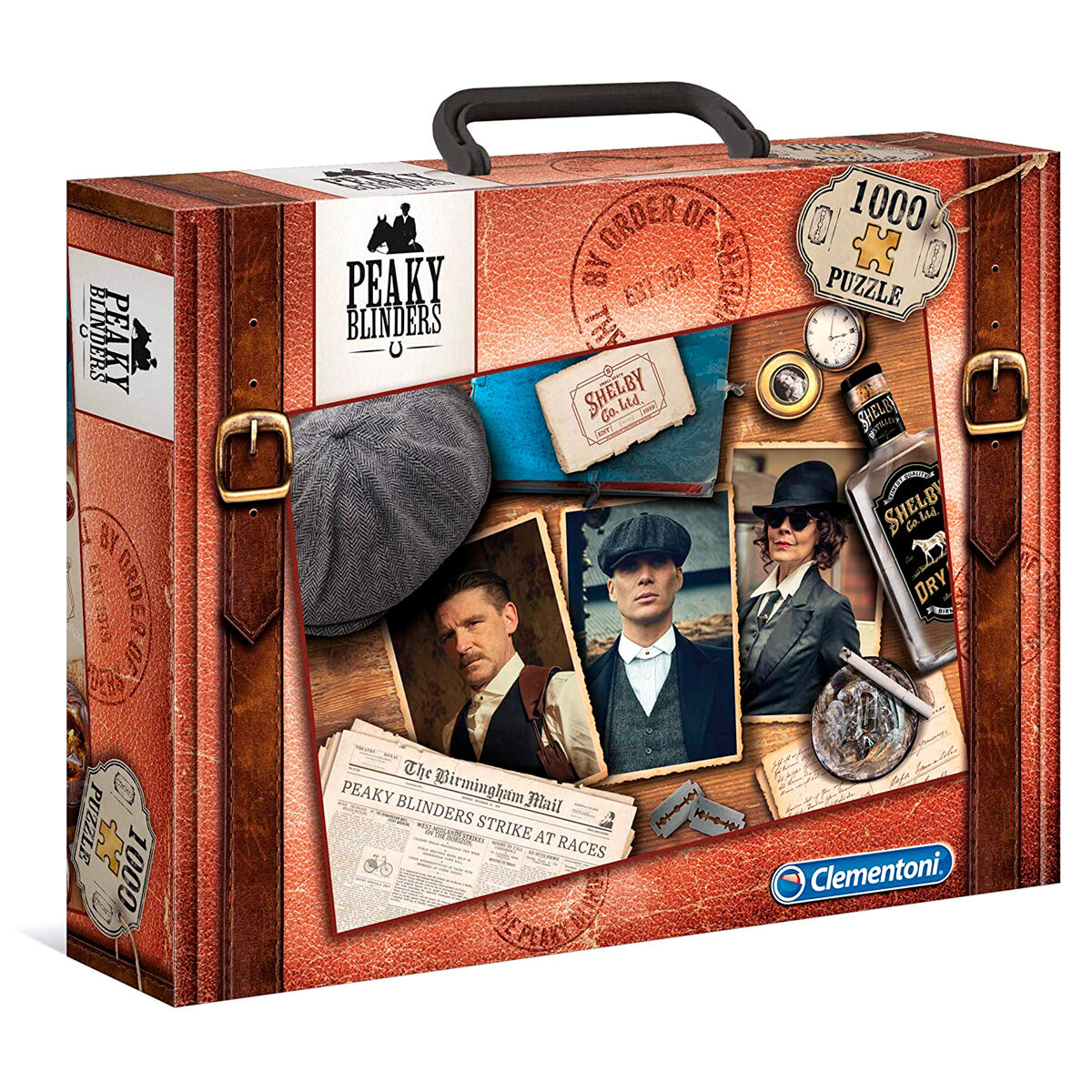 Puzzle Peaky Blinders (maleta) 1000 Peças Clementoni