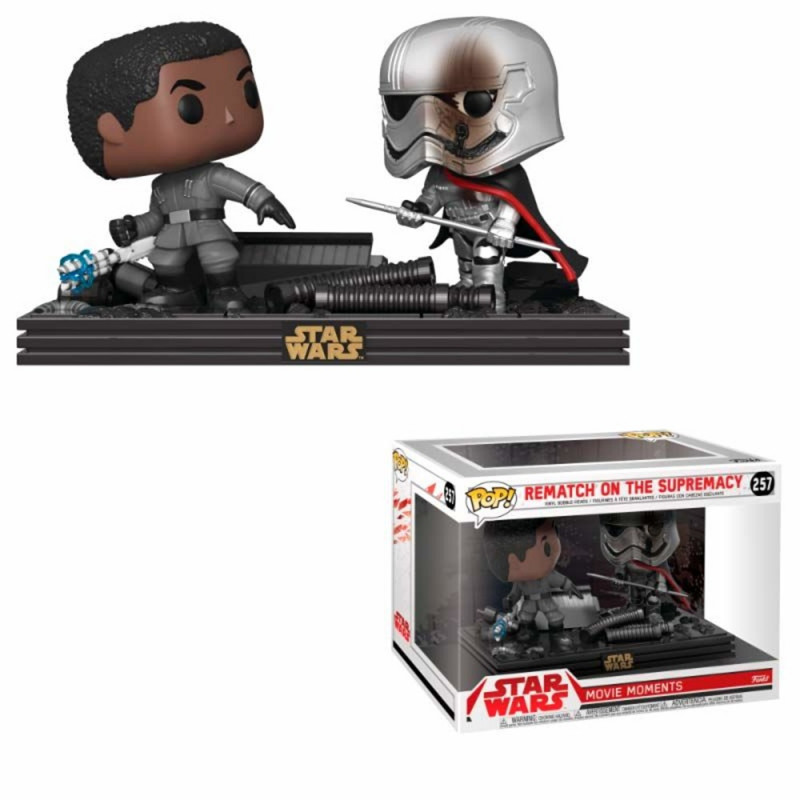 Funko! Pop Star Wars Movie Moment Rematch on the Supremacy