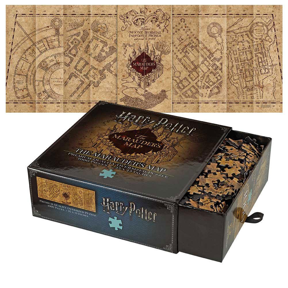 Puzzle Harry Potter The Marauder's Map 1000 Peças The Noble Collection