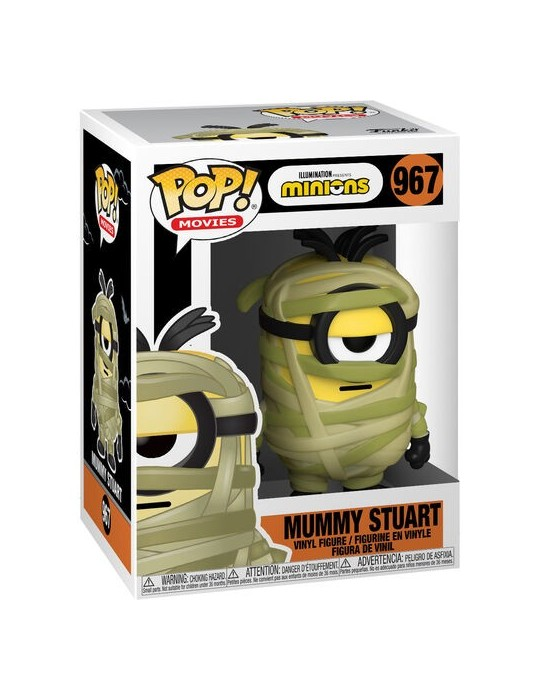 Funko POP! Movies Minions Mummy Stuart #967