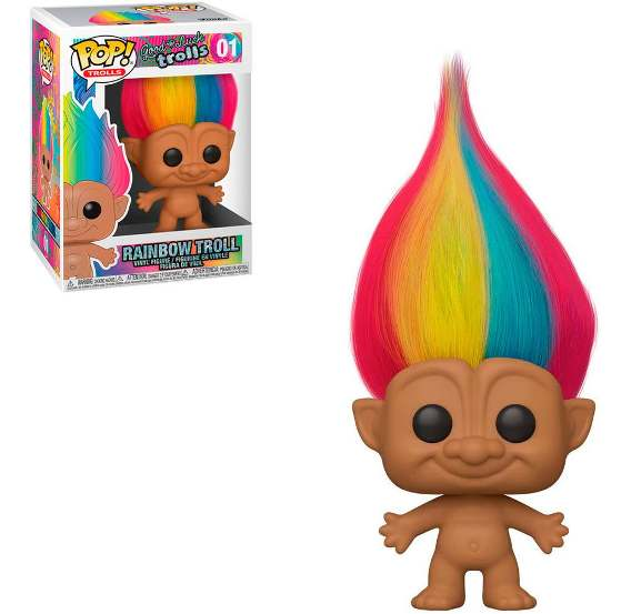 Funko POP! Good Luck Trolls Rainbow Troll #01