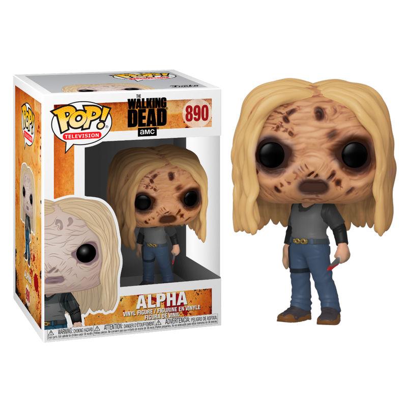 Funko! Pop The Walking Dead Alpha with Mask