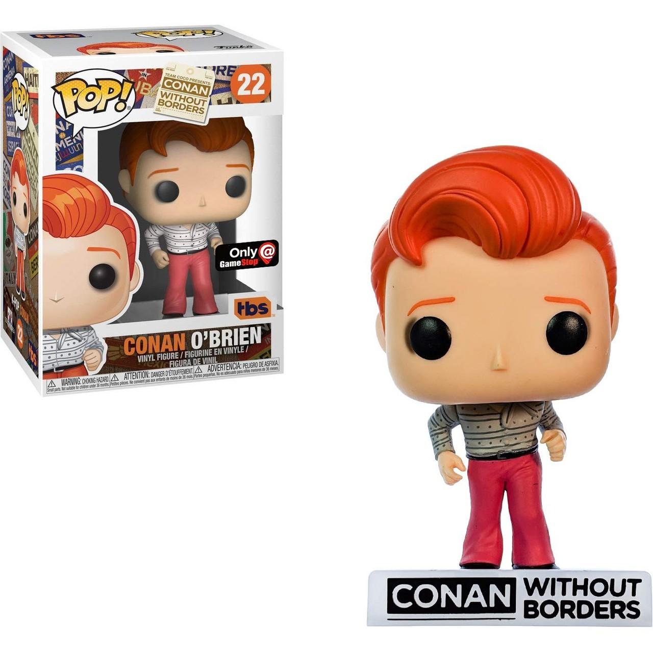 Funko! Pop Conan Without Borders Conan O´Brien Special Edition