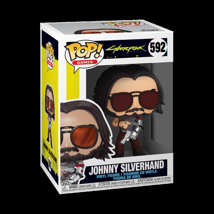 Funko POP! Games Cyberpunk 2077 Johnny Silverhand #592