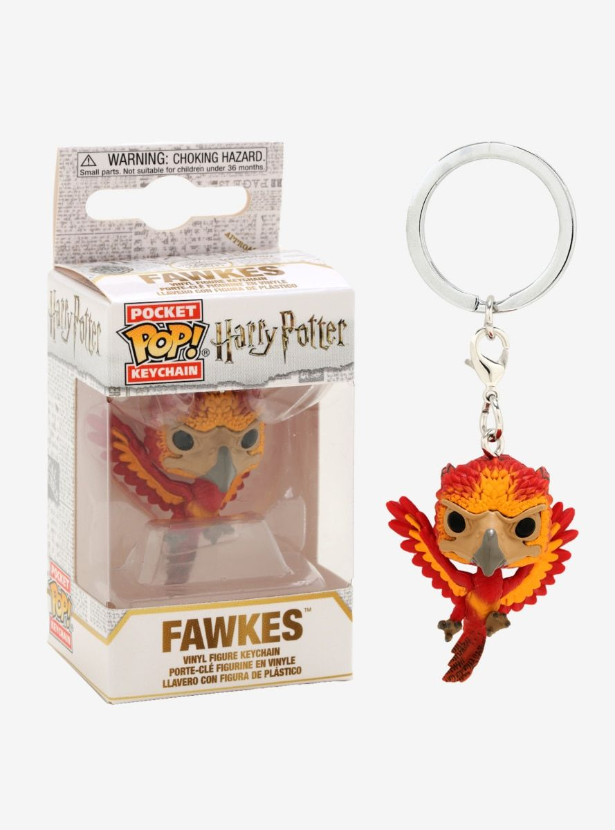Funko Pocket POP! Keychain Harry Potter Fawkes