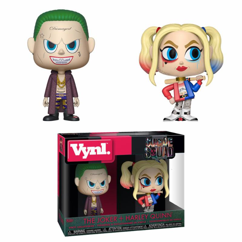 Funko! Vynl Suicide Squad The Joker + Harley Quinn