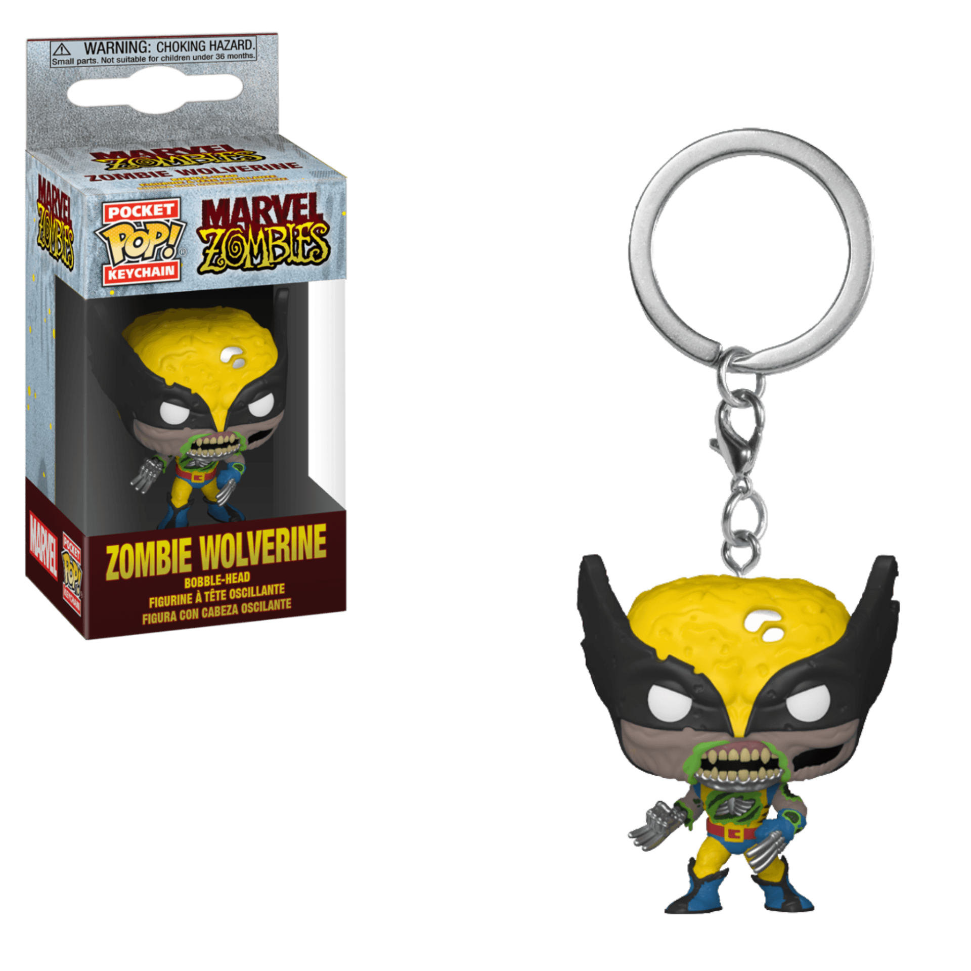 Funko Pocket POP! Keychain Marvel Zombies Zombie Wolverine
