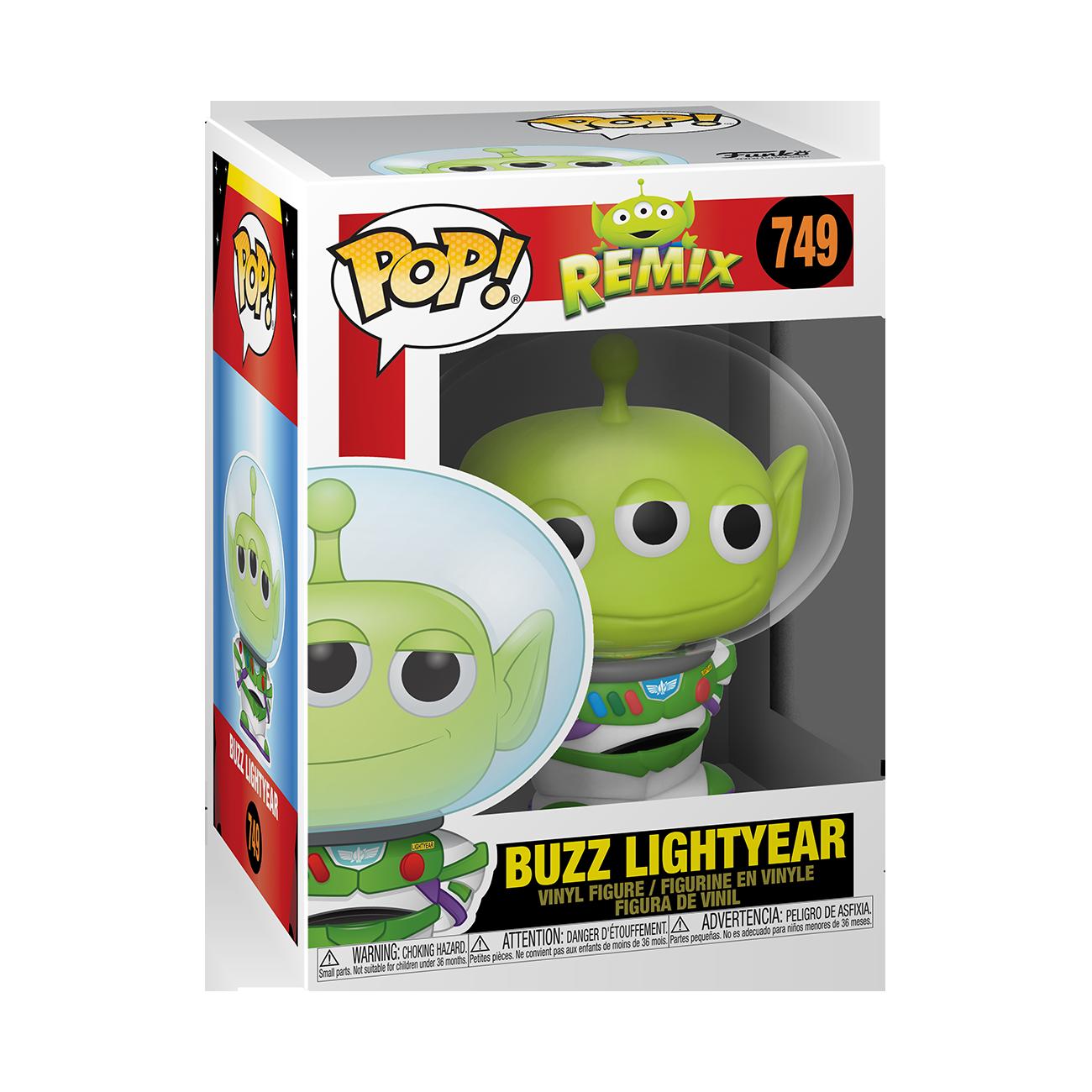 Funko POP! Disney Pixar Alien Remix Buzz #749