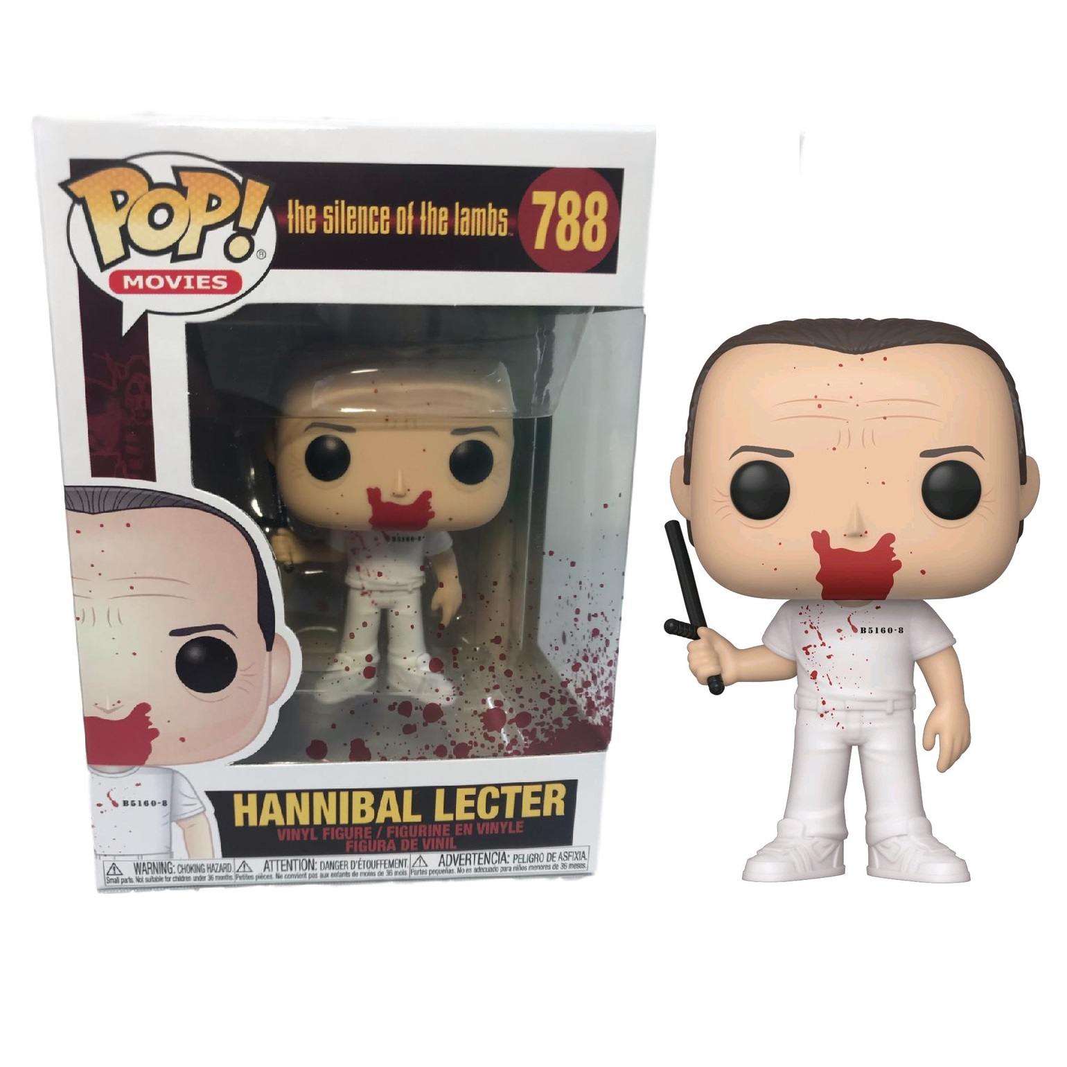 Funko! Pop The Silence of the Lambs Hannibal Lecter Bloody