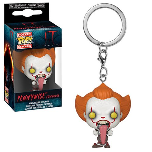 Funko Pocket POP! Keychain IT Chapter 2 Pennywise Funhouse