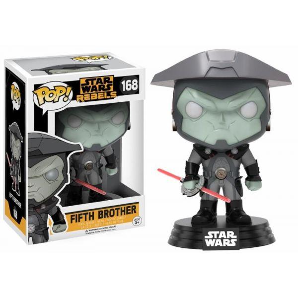 Funko! Pop Star Wars Rebels Fifth Brother #168 (Caixa Danificada)