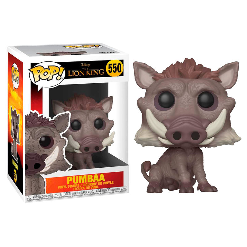 Funko! Pop Disney Live Action Lion King Pumbaa