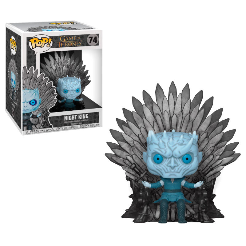 Funko! Pop Game of Thrones Night King Sitting on Throne