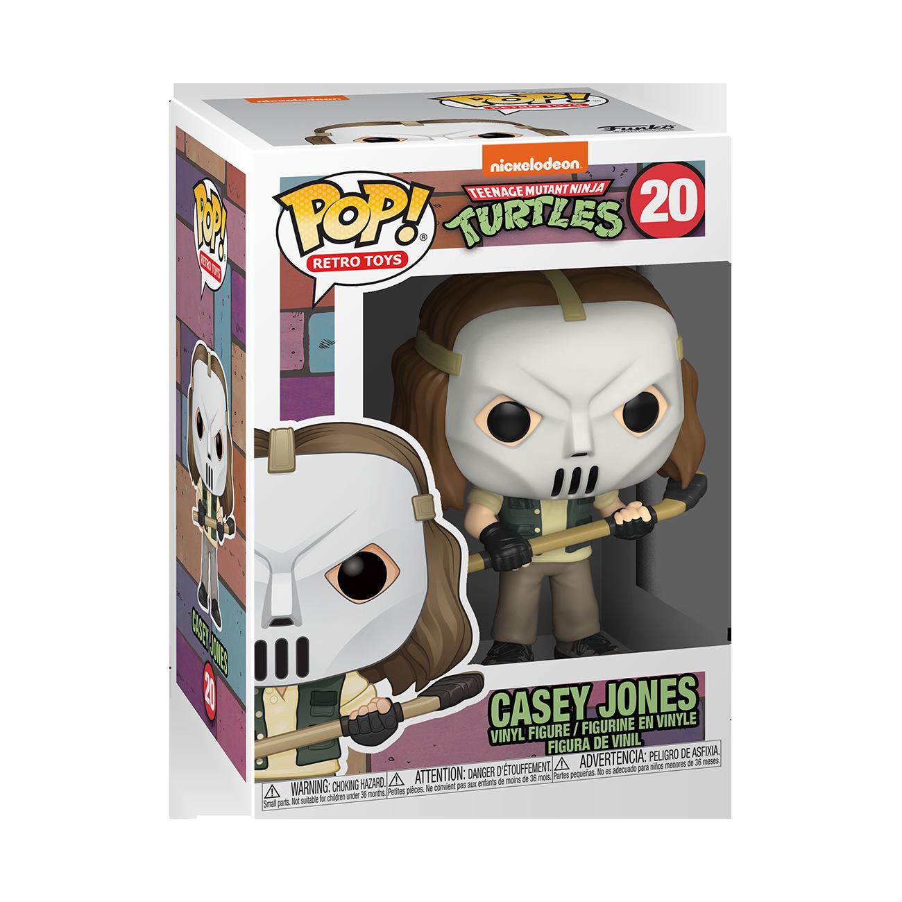 Funko POP! Retro Toys Teenage Mutant Ninja Turtles Casey Jones #20