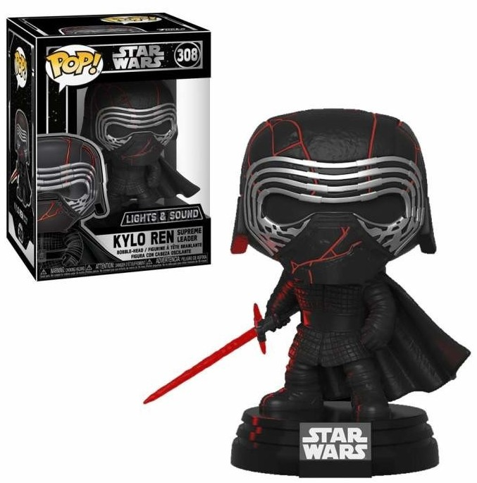 Funko! Pop Star Wars Kylo Ren Supreme Leader Lights and Sound #308