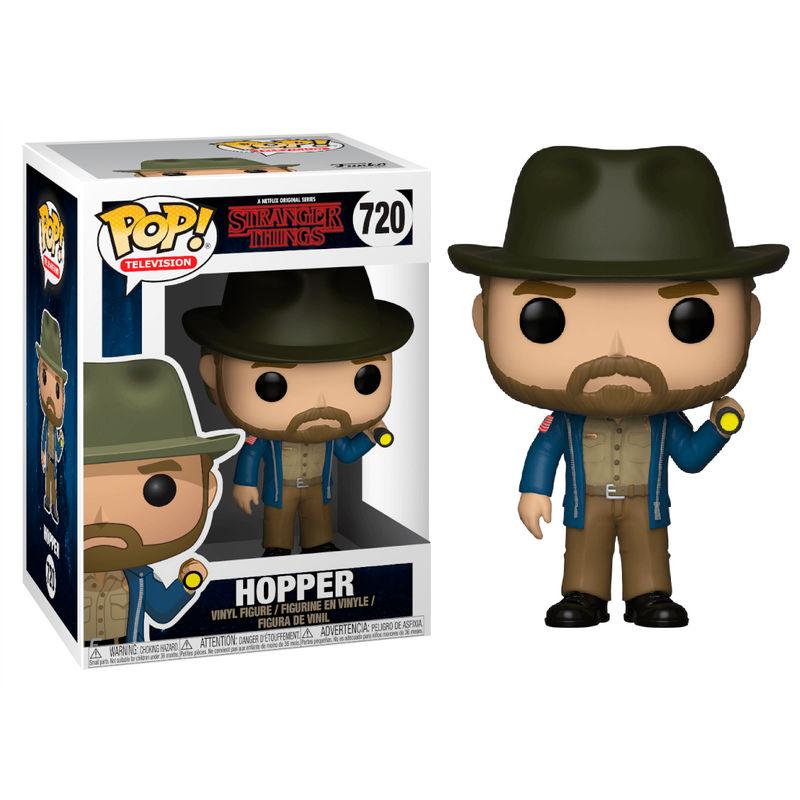 Funko POP! Stranger Things Hopper with Flashlight #720