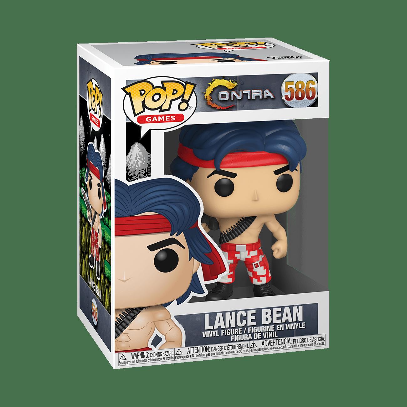 Funko! Pop Games Contra Lance Bean #586