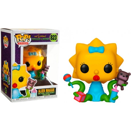 Funko POP! The Simpsons Treehouse of Horror Maggie Alien #823