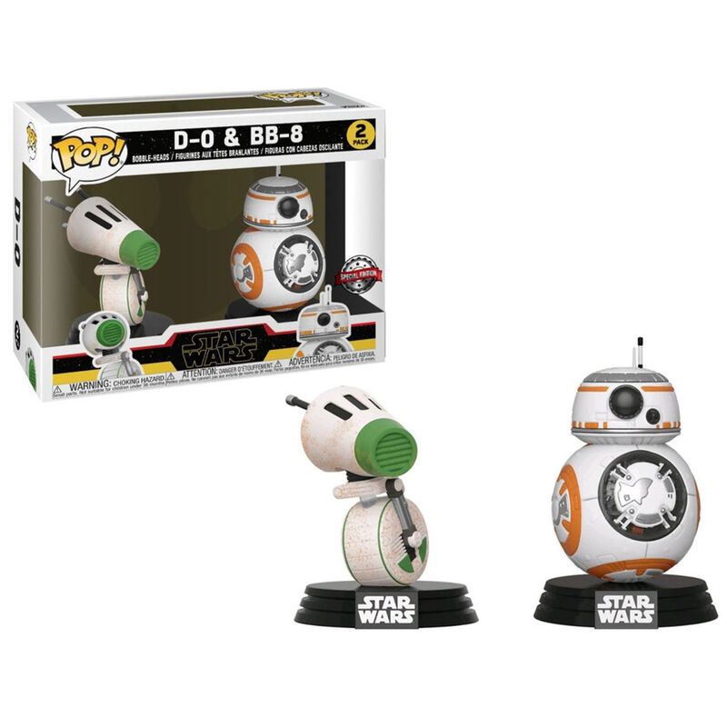 Funko POP! Star Wars The Rise of Skywalker D-O & BB-8 2Pack Special Edition