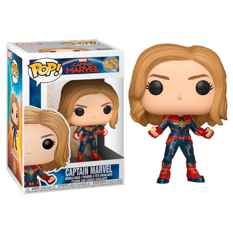 Funko! Pop Marvel Captain Marvel