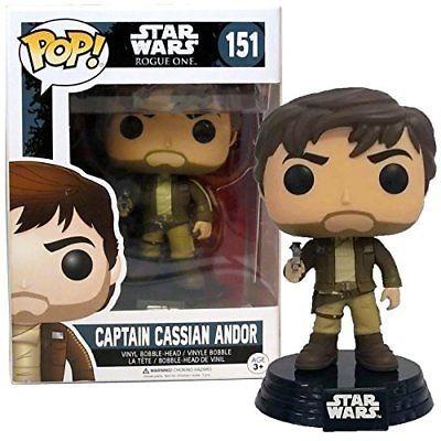Funko! Pop Star Wars Rogue One Captain Cassian Andor Exclusive