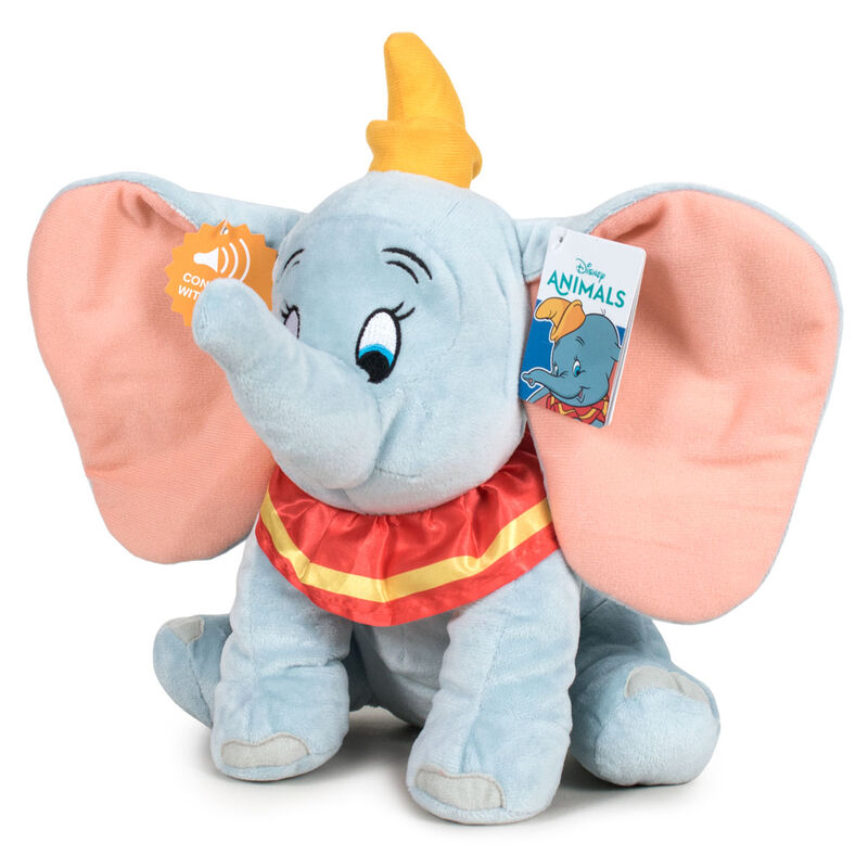 Peluche Disney Dumbo c/ Som 20cm Play By Play