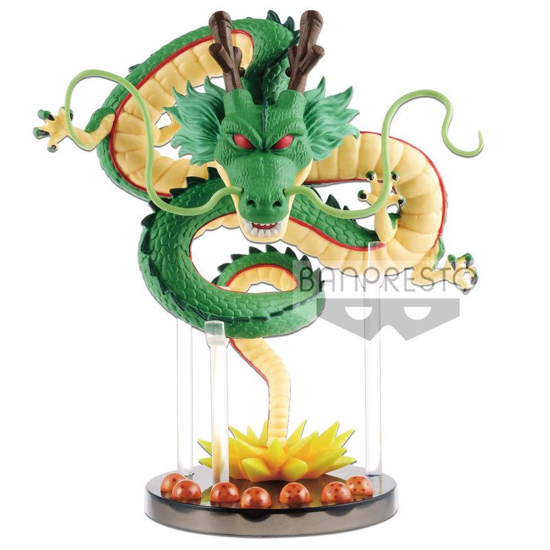 Figura World Collectable Mega Shenron Dragon Balls Dragon Ball Z 14cm Banpresto