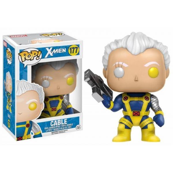 Funko! Pop X-Men Cable #177 (Caixa Ligeiramente Danificada)
