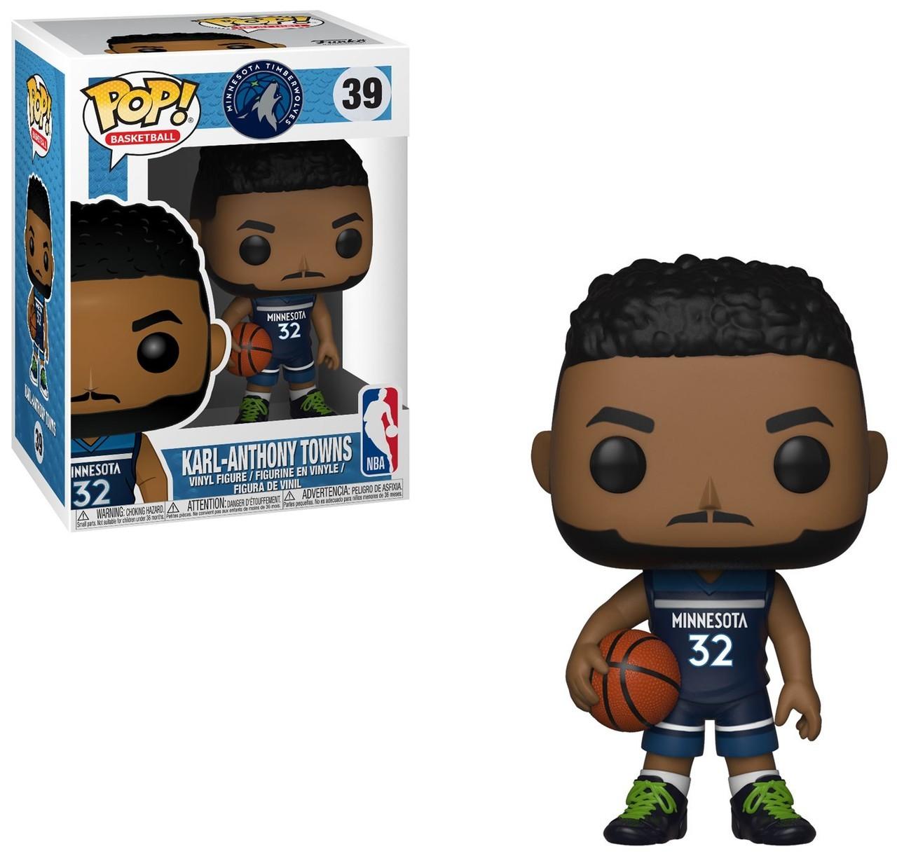 Funko! Pop Sports NBA Minnesota Timberwolves Karl-Anthony Towns #39
