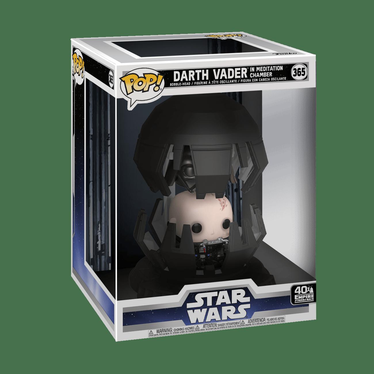 Funko! Pop Star Wars 40 The Empire Strikes Back Darth Vader in Meditation Chamber #365
