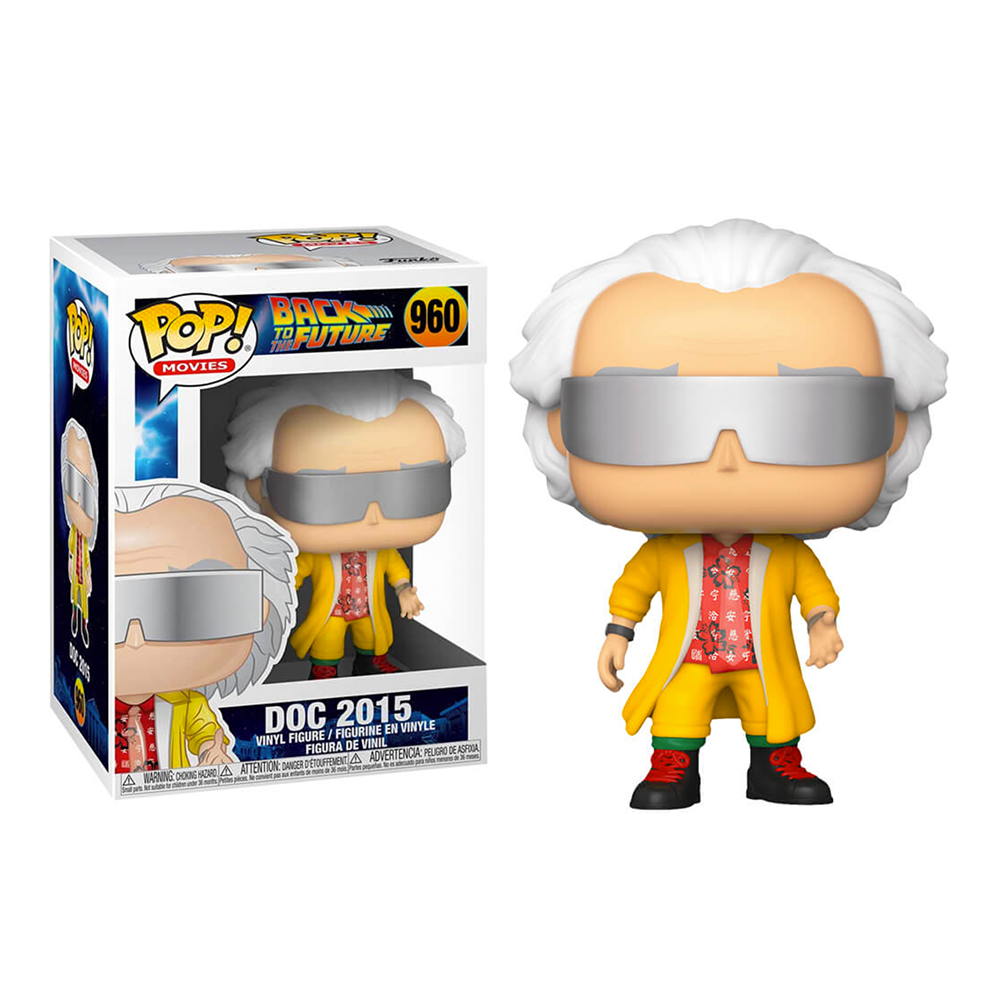 Funko POP! Movies Back To The Future Doc 2015 #960